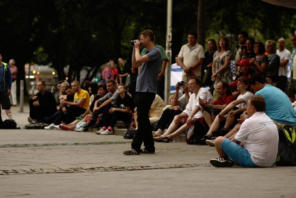 Bilder von der 11. Montagsdemo in Chemnitz vom 21.07.2014